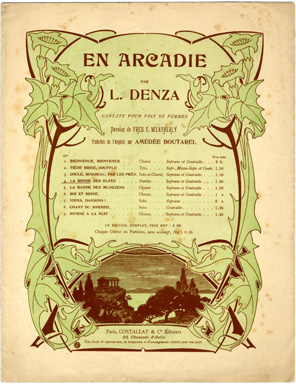 Browse art nouveau sheet music covers in the category for Art nouveau decoration ameublement