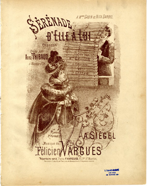 Search sheet music covers from the composer Félicien Vargues