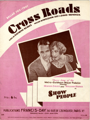 Search sheet music covers from the lyricist Raymond Klages