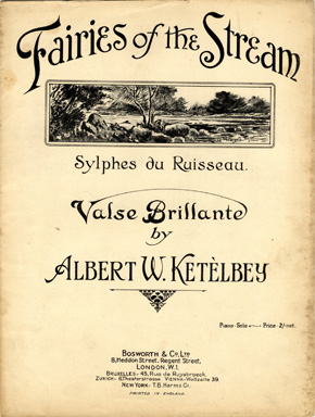Search Sheet Music Covers From The Composer Albert W Ketelby