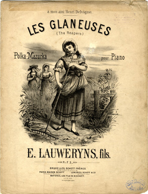 Search Sheet Music Covers From The Composer E Lauweryns